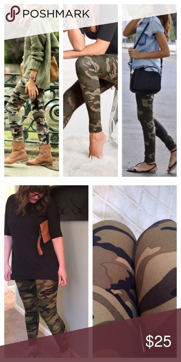 Softest Camouflage Leggings💗 Infinity Raine one size camouflage leggings. Fits to size 12. Buttery soft, and my new go to pair of leggings....plus super comfy!!💕. These are high quality leggings that you'll never want to take off!!  Endless styling possibilities ladies😘 Infinity Raine Pants Leggings
