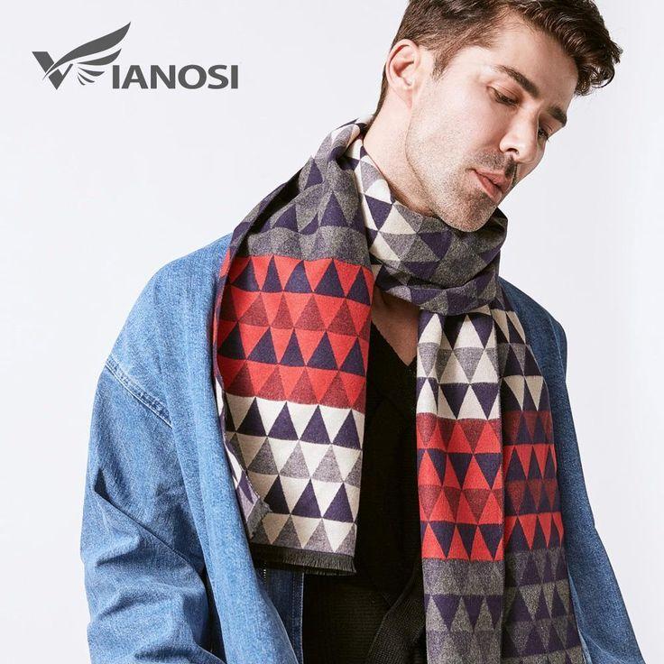 Man Scarf  Fashion Design  Casual Scarves Winter Men's Wool Scarf Luxury Design #VIANOSI #CasualFashionFormalBrandScarfMen