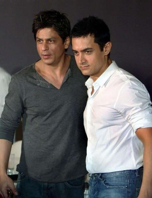 Shahrukh Khan and Aamir Khan #lolwut?