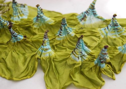 Image of Shibori Techniques on Silk-ONLINE  Self Study WORKSHOP