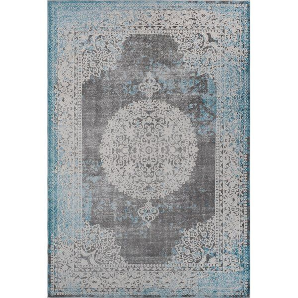 The collection is ideally suited for any décor scheme. Traditional designs are given a contemporary vintage look to bring you a classic, yet vogue, focal point. Indoor area rugs' vivid colors and border motifs are given extra depth with shrink polyester. This shrink polyester gives your area rug an embossed look from afar and draws the eye to detail up close, while polypropylene yarns keep durable and easy to clean.