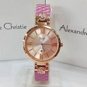 Jam Tangan Alexandre Christie AC 2516 Rosegold Pink