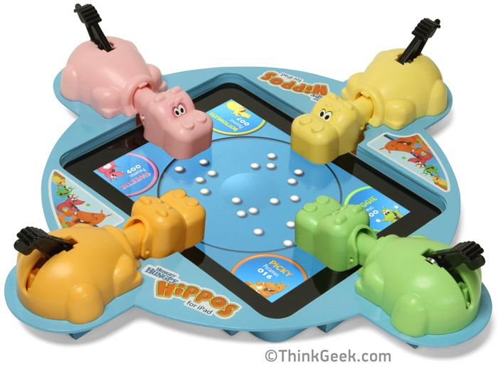 Electronic Hungry Hungry Hippos for iPad......  Hahaha....I want it! very cute!!!: Design Products, Hungry Hungry Hippos, April Fools Pranks, Boards Games, April Fools Day, Ipad, Hunger Games, The Games, Hungryhippo