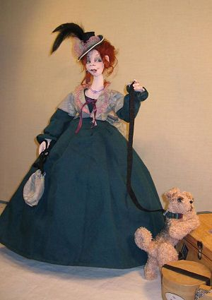 Cloth Doll Patterns by Sharon Mitchell