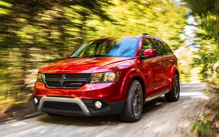 2020 Dodge Journey Crossroad Reviews The 2020 Dodge Journey Is The Cheapest Three Row Crossover Available In The United States Costing Thous