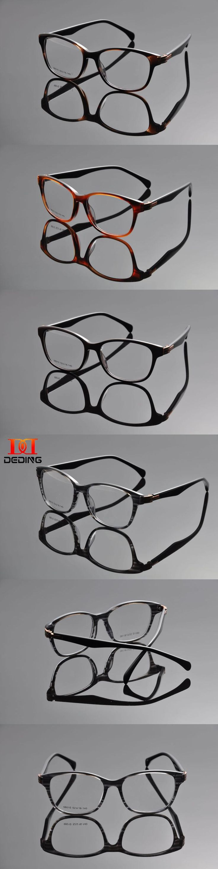 2015 DEDING Retro Unisex Full Frame Acetate Prescription Eyewear Frame Men Women Sports Optical Glasses oculos de grau DD1037