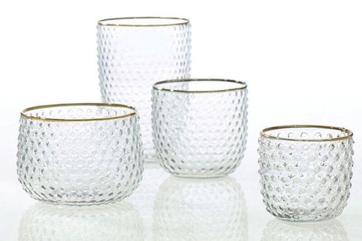 """Mady Hobnail Antique Glass Votive Holder 4""""x 3.5"""""""