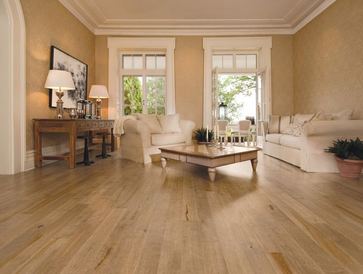 Exceptional Hardwood Floor Furniture Part - 14: Awesome Natural Maple Wood Flooring Varnished Finish Maple Hardwood Flooring  In Wood Floor Style - The
