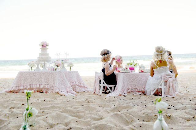 Tea Party on the Beach: Tea Party, Beaches, Teaparty, High Tea, Teas, Beach Party, Tea Parties, Party Ideas