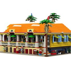 The Story The Caribbean, the food capital of the world, where tropical beauty meets Gaelic flair. Nowhere else than on the Friendly islands you will you find such a concentration of the finest restaurants. Some are on a street overlooking the Caribbean Sea. Charming old Creole houses with local Creole tradition food. So I built this one on Lego Digital Designer (LDD). I really believe that this model could have a lot of genuine interest for fans of Creole houses. Summary The building…