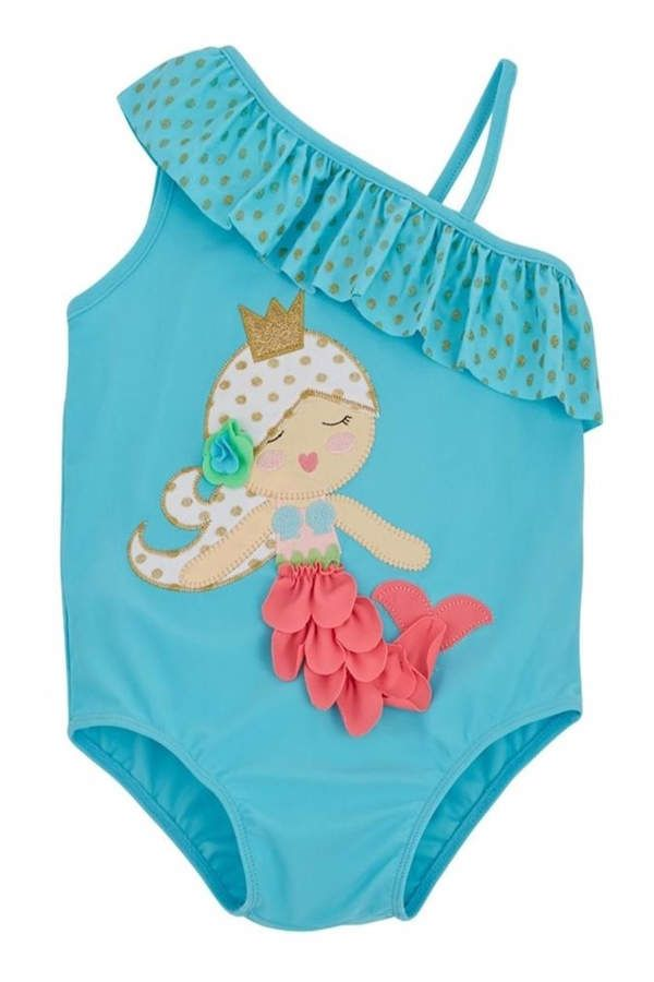 aa9b635e60adb Mud Pie Mermaid Swimsuit #ad | swimwear kids | Mermaid swimsuit ...