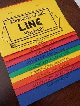 Check out my NEW PRODUCT!  The ELEMENTS OF ART FLIPBOOK for LINE is a thorough resource on teaching the concept of Line as an Element of Art. Your Art students can use it as a resource when studying for Art Assessments. Or, they can use it as a go-to reference while studying works of art in class using the Elements as a lens for interpretation. From Picassa's Palette Art Education Resources