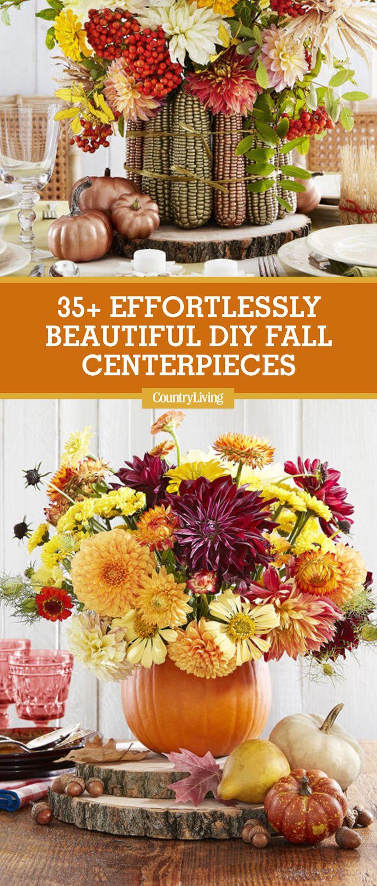 35 Beautiful Fall Centerpieces You Can Make