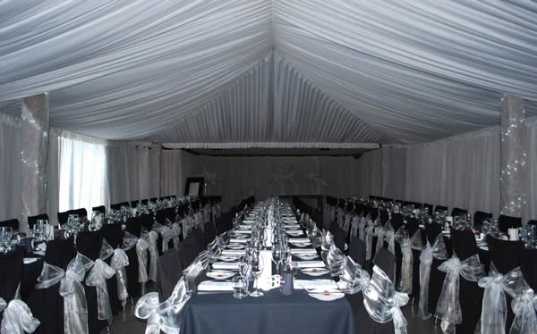 Canopy and Silk Walls in the Cardrona Room