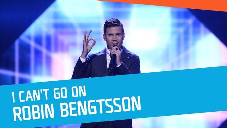 """Robin Bengtsson sjunger """"I Can't Go On"""" i Melodifestivalen 2017."""