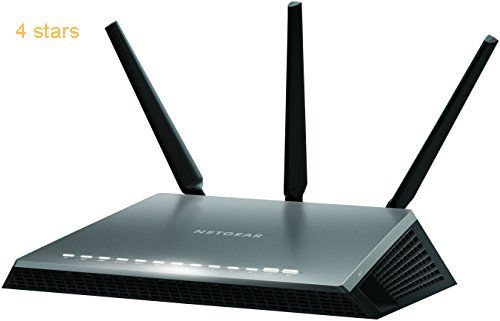 NETGEAR D7000-100UKS Nighthawk AC1900 Dual Band 600  1300 Mbps Wireless (Wi-Fi) VDSL/ADSL Modem Router for Phone Line Connections (BT Infinity YouView TalkTalk EE and Plusnet Fibre)