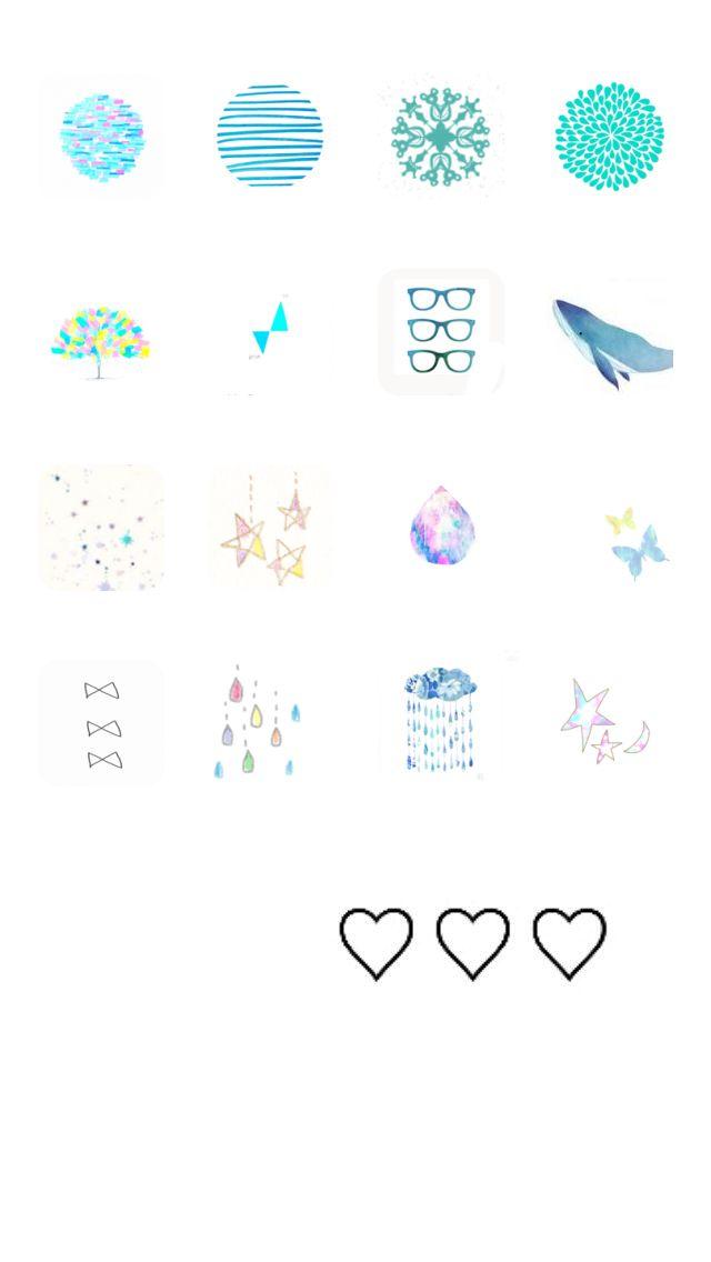 Cocoppa Kawaii Japan Homescreen Icon Wallpaper App Screenshot