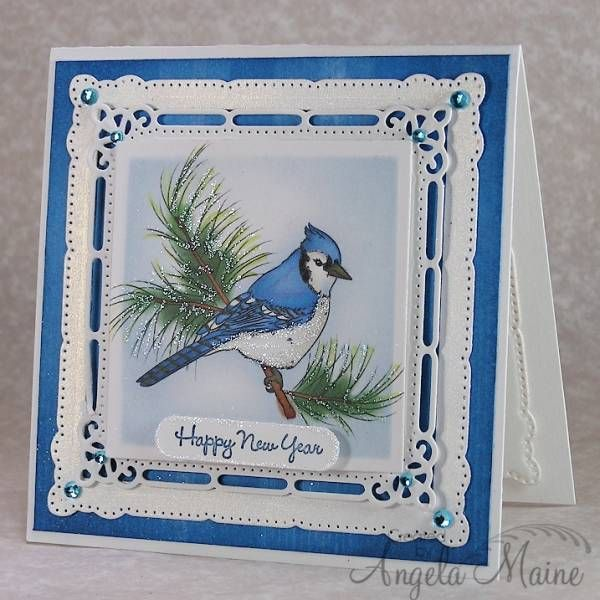 WT408 & SCSCCJAN13 New Blue by Arizona Maine - Cards and Paper Crafts at Splitcoaststampers