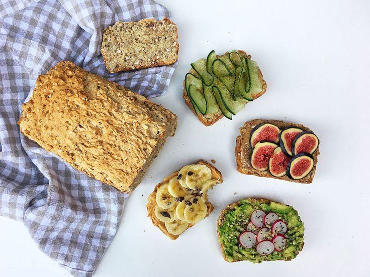 Muesli Bread Recipe (Vegan) #healthyrecipe #vegan #bread #quickbread