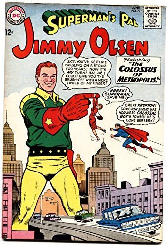 SUPERMANS PAL JIMMY OLSEN #77 1964-origin of TITANO-Colossal Boy-Comic book @ niftywarehouse.com #NiftyWarehouse #Superman #DC #Comics #ComicBooks