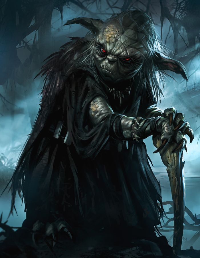 If Yoda was a Sith Lord... Good thing he lived so long and never fell to the Dark Side. Amazing.