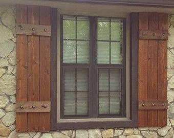 Top 25+ best Cedar shutters ideas on Pinterest | Wood shutters ...