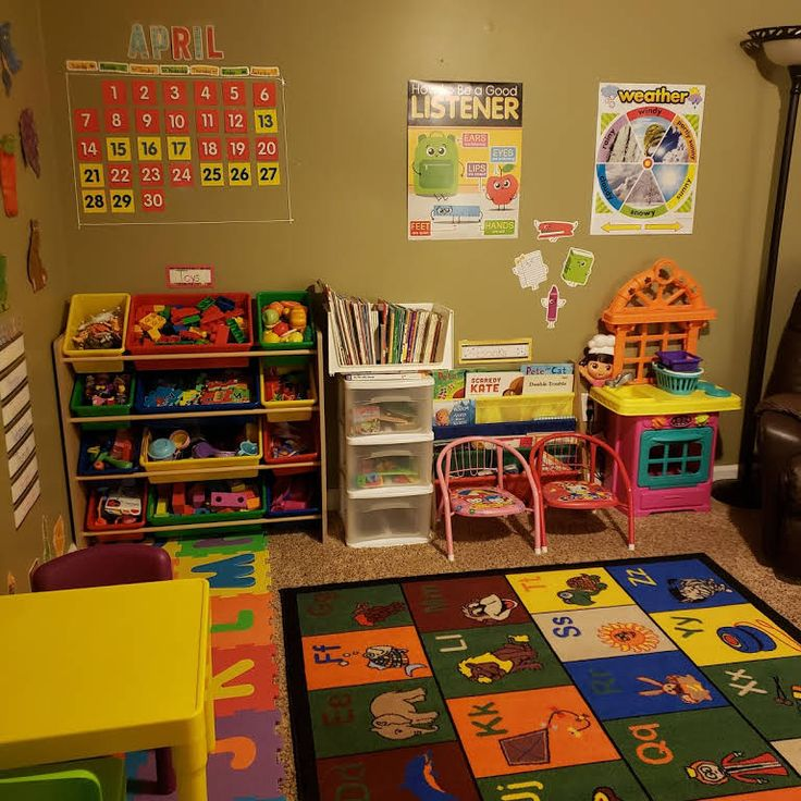 Home Daycare Design Ideas: Natural Blue Naturally Yours Daycare
