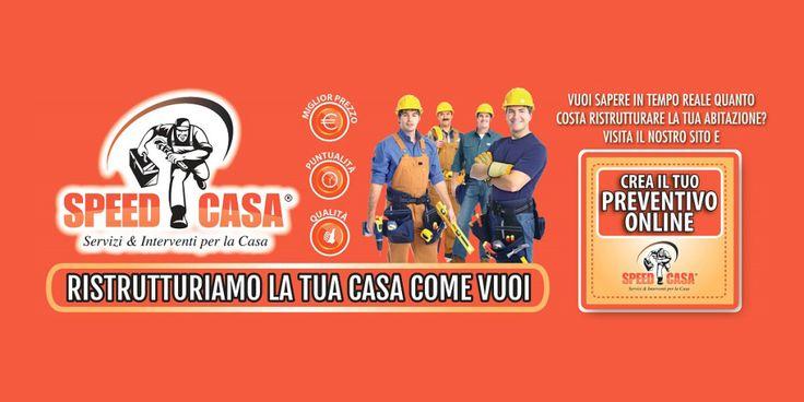 Speed Casa è un marchio in franchising specializzato nelle ristrutturazioni chiavi in mano e nell'esecuzione di tutte le manutenzioni in ambito edilizio.