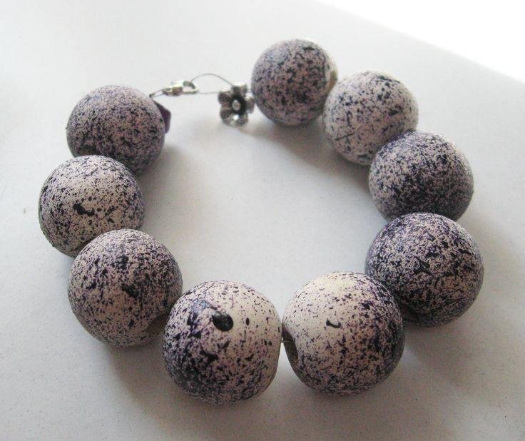 handmade wooden bracelet