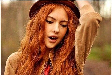 Натуральные Рыжие Волосы Фото - 19 Октября 2015 - Прически, Стрижки 2015-2016 - Модные красивые прически и стрижки 2015-2016 фото видео
