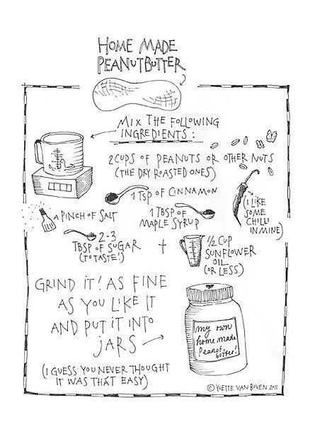 RECIPE: Home Made Peanut ButterVans Boven, Peanuts, Homemade Peanutbutter, Recipe, Food, Almond Butter, Yvette Vans, Home Made Peanut Butter, Homemade Peanut Butter