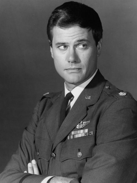 "Larry Hagman as Tony Nelson in ""I Dream of Jeannie"". I always had the biggest crush on him."