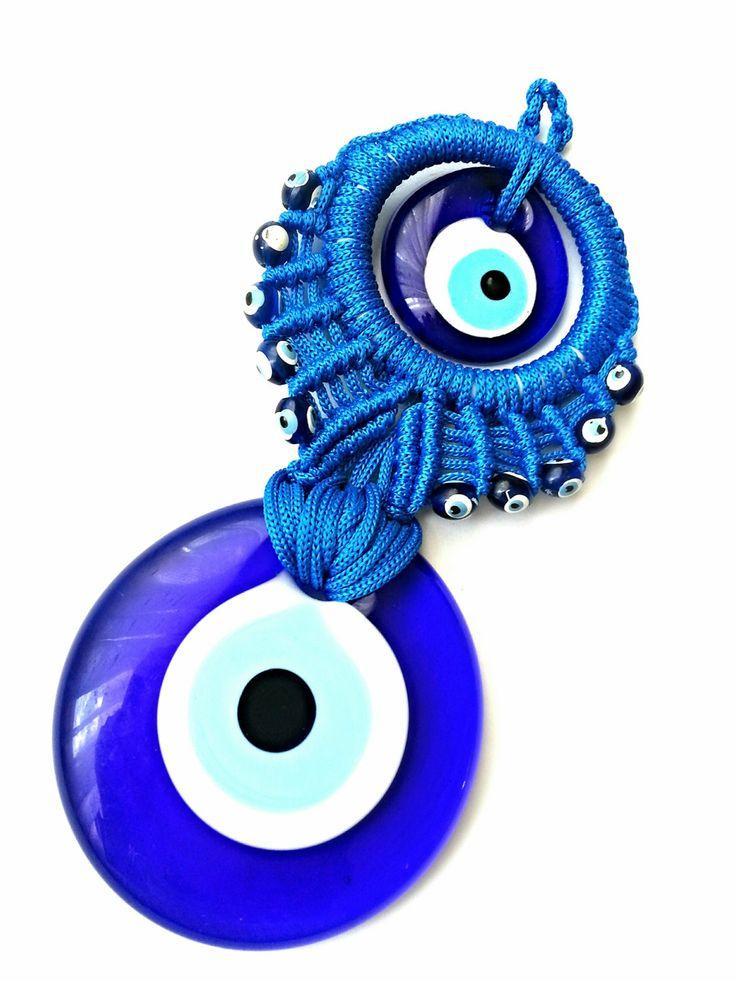 Lucky Evil Eye Nazar Boncuk Turkish / Greek by EvilEyeAndPeshtemal, $12.00