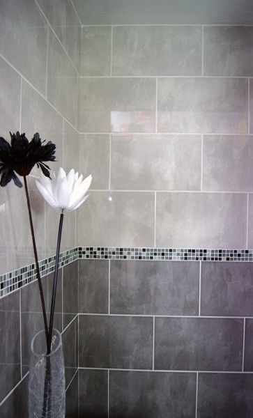 grey shower tile images | Home / Ceramics / Aspendos / Aspendos Light Grey Wall Tile (400x250mm)