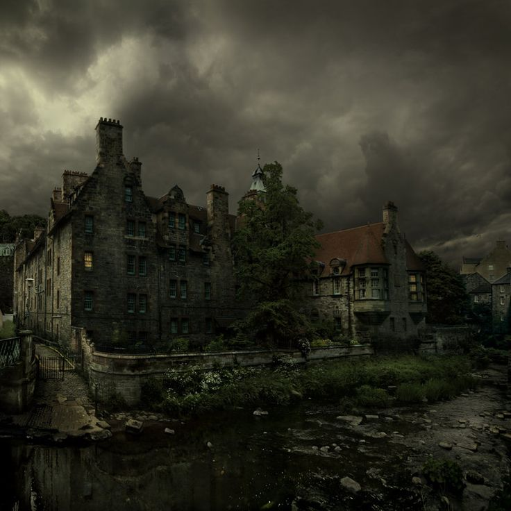 The dean village town by alcove on deviantart get in for Pinterest haunted house
