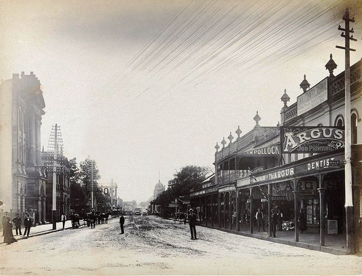 Church Street,Parramatta,in the western suburbs of Sydney in 1898.A♥W