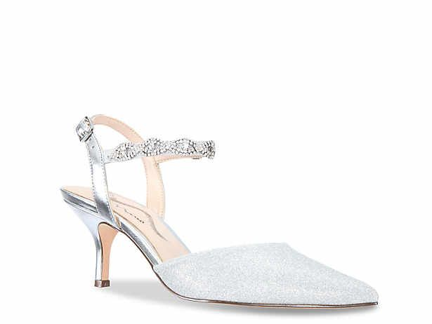 Women S Evening And Wedding Shoes Bridal Shoes Dsw Silver Dress Shoes Silver Wedding Shoes Shoes Heels Pumps