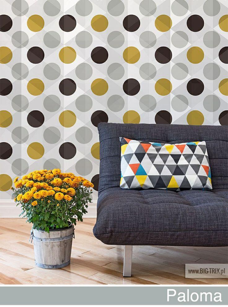 PANTONE 2014: Paloma circles wallpaper by Big-trix.pl | #pantone #pantone2014 #paloma #wallpaper