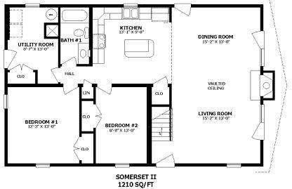 Small Modular Homes Floor Plans | courtesy modulartoday