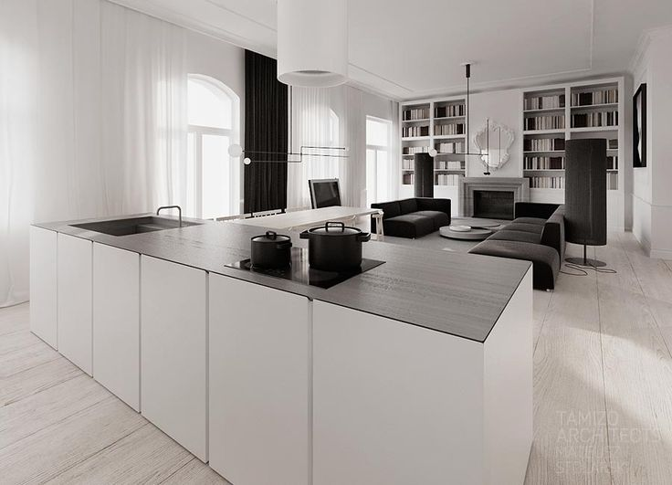 If you are crazy about monochrome interiors then this mammoth collection of black and white beauties from Polish firm Tamizo is going to be right up your street