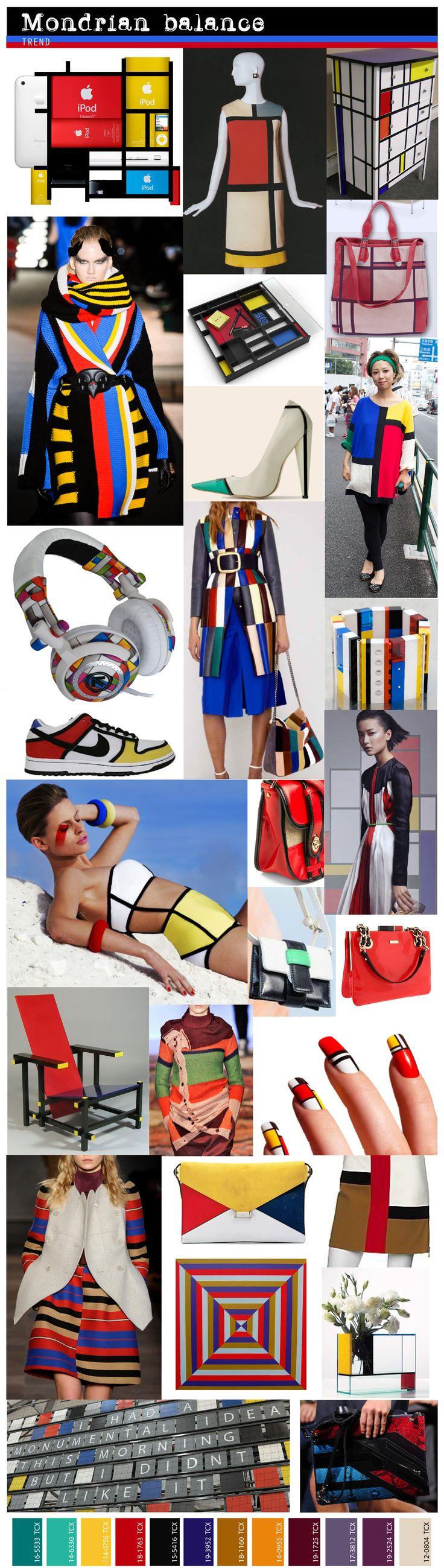 Trends: Mondrian Balance.