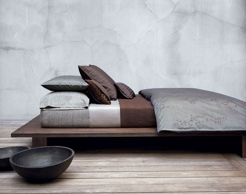 Beautifully simple.  The bed is an illustration of repose.