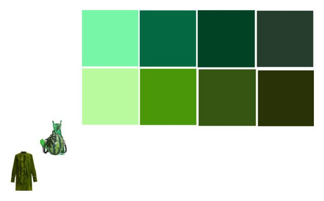 """""""green"""" by elenton on Polyvore featuring картины"""