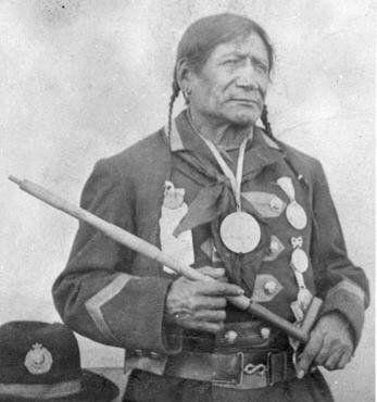 Red Crow - Blackfoot (Kainai) - 1892