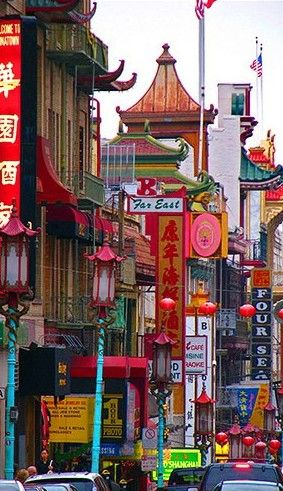 Established in the 1850s, San Francisco's Chinatown is the oldest Chinatown in North America. It is also the largest Chinese Community outside of Asia. It is one of the largest and most prominent centers of Chinese activity outside of China • photo: Brad Polzin (konjure) on Flickr