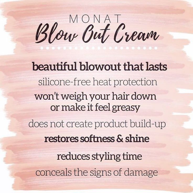 MONAT's Newest Product: Blow Out Cream!   Get yours today!   monathairaffair@gmail.com