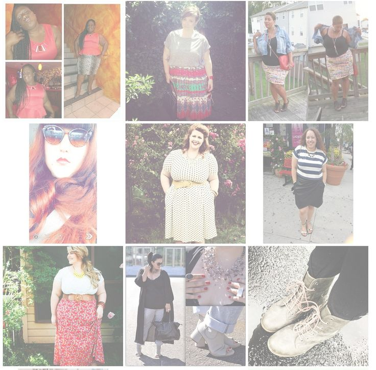 A Few of the Best Instagram Plus Size Fashion Hashtags
