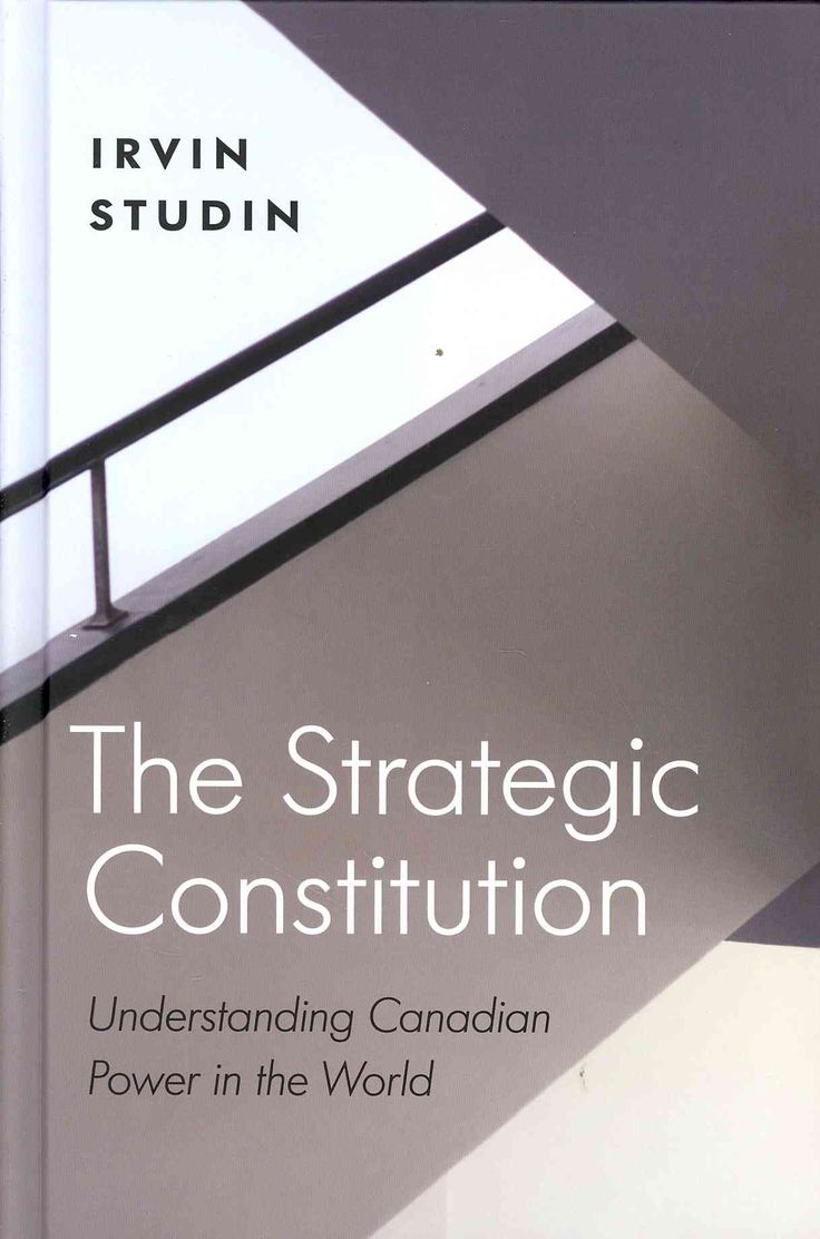 The strategic constitution understanding canadian power in the