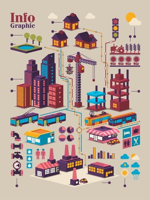 Info Graphics by Robert Filip, via Behance