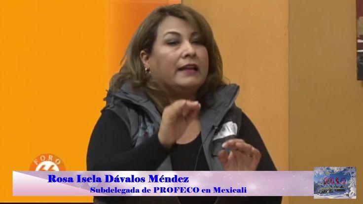 Operativo Navidad 2016 de PROFECO Mexicali, Rosa Isela Dávalos Méndez
